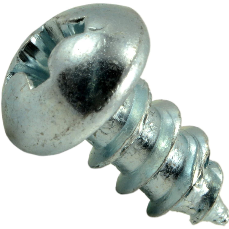 10 x 1//2 Piece-60 Hard-to-Find Fastener 014973299439 Phillips Round Sheet Metal Screws