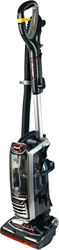Shark DuoClean Upright Vacuum for Carpet and Hard Floor Cleaning with Lift-Away Hand VacuumHEPA Filterand Anti-Allergy Seal NV771 Black Red Renewed