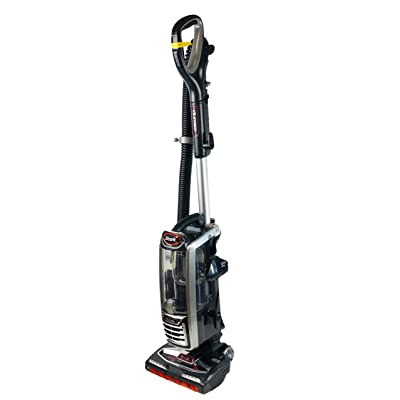 Shark DuoClean Upright Vacuum for Carpet and Hard Floor Cleaning with Lift-Away Hand Vacuum, HEPA Filter, and Anti-Allergy Seal (NV771), Black/Red