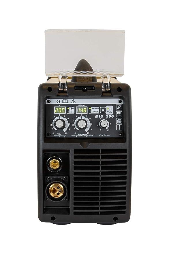 Maquina de soldar   Soldadora Inverter MIG/MAG 180 A PFC   Inversor de soldadura: Amazon.es: Bricolaje y herramientas