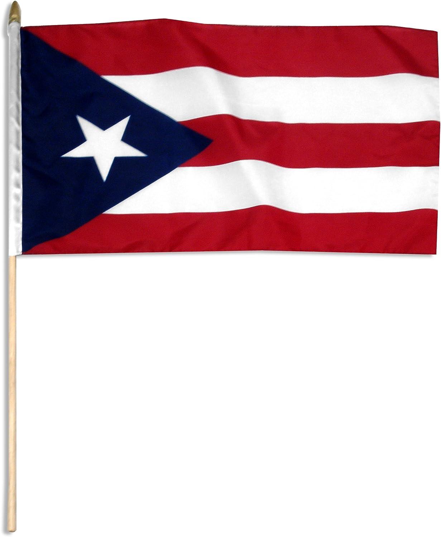 Amazon.com : US Flag Store Puerto Rico Flag, 12 by 18-Inch : Outdoor Flags  : Garden & Outdoor