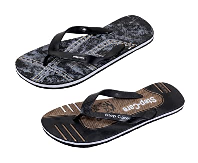ed0913e74ca8dc Indistar Men s Soft Rubber Flip-Flops and House Slippers Hawaii Flip-Flops  Hawaii Slippers