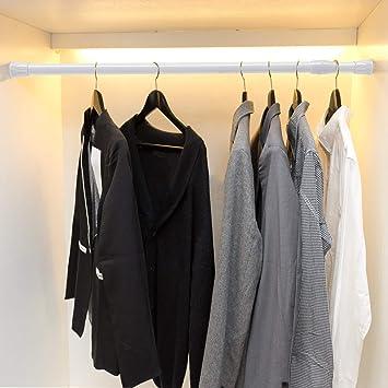 Noir. Placard armoires SOGREAT Lot de 6/Extensible Courte Barre de Tension 50 11/–45,7/cm 70/cm fen/êtres pour Armoire placards
