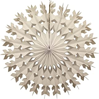 product image for Devra Party 6-Pack 22 Inch Large Tissue Paper Snowflake (White)