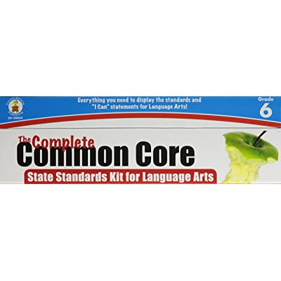 Complete Common Core State Standards Kit for Language Arts, Grade 6: Carson-Dellosa Publishing: Office Products