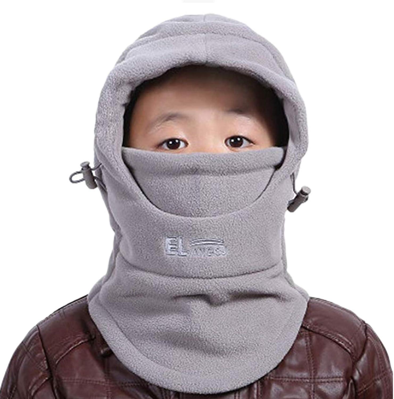 ZZLAY Cappello di Balaclavas per Bambini Cappellino Termico Resistente agli Agenti atmosferici Resistenti allAria
