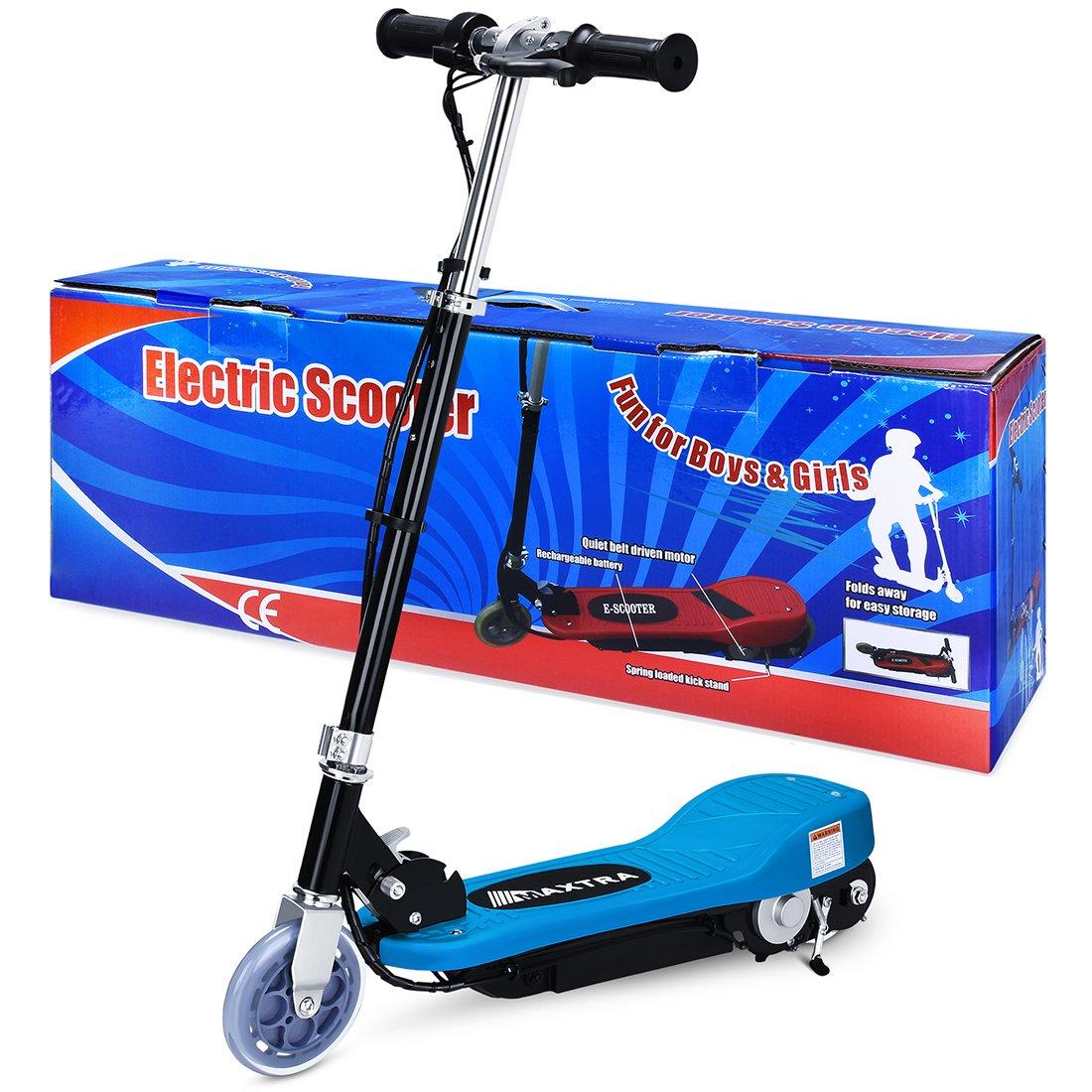 Amazon.com: BenefitForU - Patinete eléctrico plegable para ...