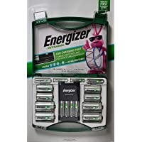 Energizer - Batería recargable con cargador (10 baterías)