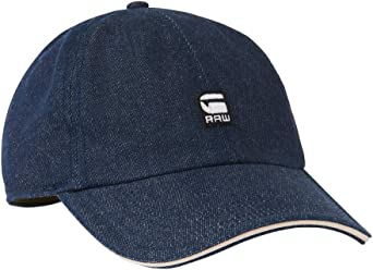 G-STAR RAW Avernus Baseball Cap Gorra, Azul (Raw Denim 001), Talla ...