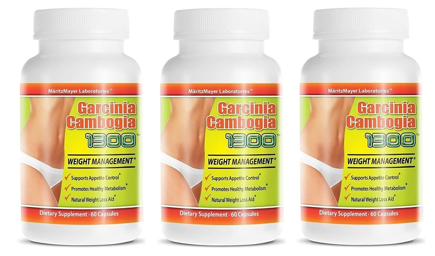 Garcinia Cambogia Extract 1300 60 Hca Weight Management Appetite Suppressant