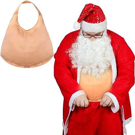 ABOAT - Disfraz de Papá Noel para el Vientre Grande Unisex para ...