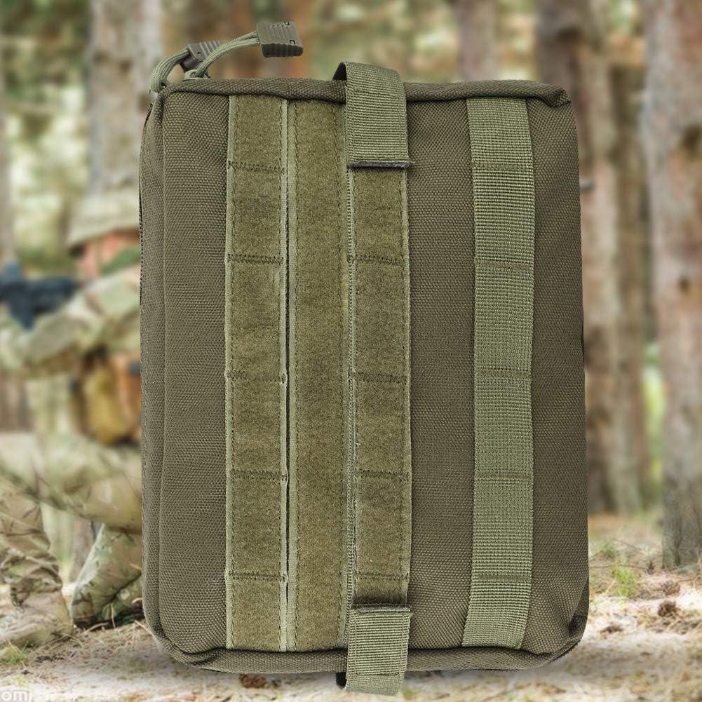 Bolsa de Primeros Auxilios m/édica Tactical Admin Molle Pouch Kit de Supervivencia de Emergencia para Paquete de Cintura Multiusos m/édico Kit de Utilidad Militar