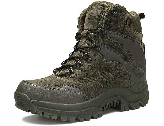 SINOES Schuhe Herren Sportschuhe Sneaker Running Wanderschuhe Outdoorschuhe Boots Stiefel Männer Militärstiefel Taktische Wüs