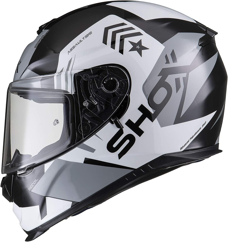 Shox Assault Evo Recoil Motorcycle Helmet