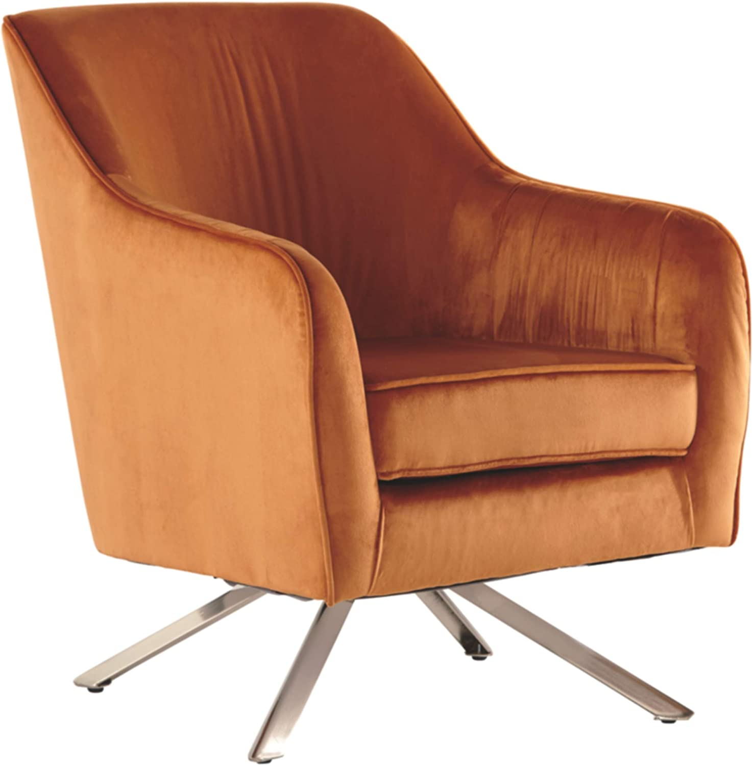 Signature Design by Ashley Hangar Accent Chair, Orange