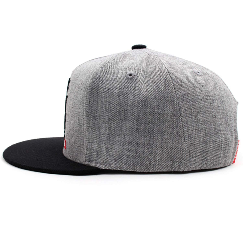 Unisex Letter Embroidery Baseball Cap 2019 Men Women Outdoor Sun Flat Hat Metal Hip Hop Snapback Cap