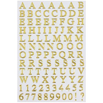 jam paper self adhesive alphabet letters stickers gold 2pack