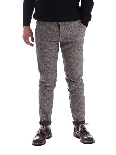 Gaudi 62FU20005 Pantalones Hombre Gris 46  Amazon.es  Ropa y accesorios 621e8bdf3138