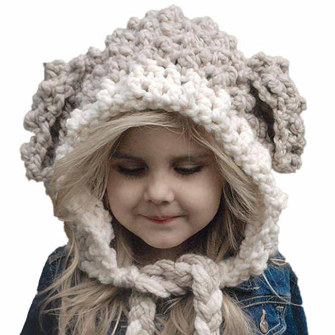 Babybekleidung Hüte & Mützen Longra Baby Kinder Mädchen Wintermütze ...