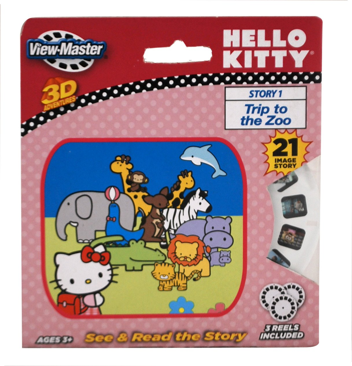 Basic Fun ViewMaster Hello Kitty 3 Reel Set Basic Fun Inc 2044