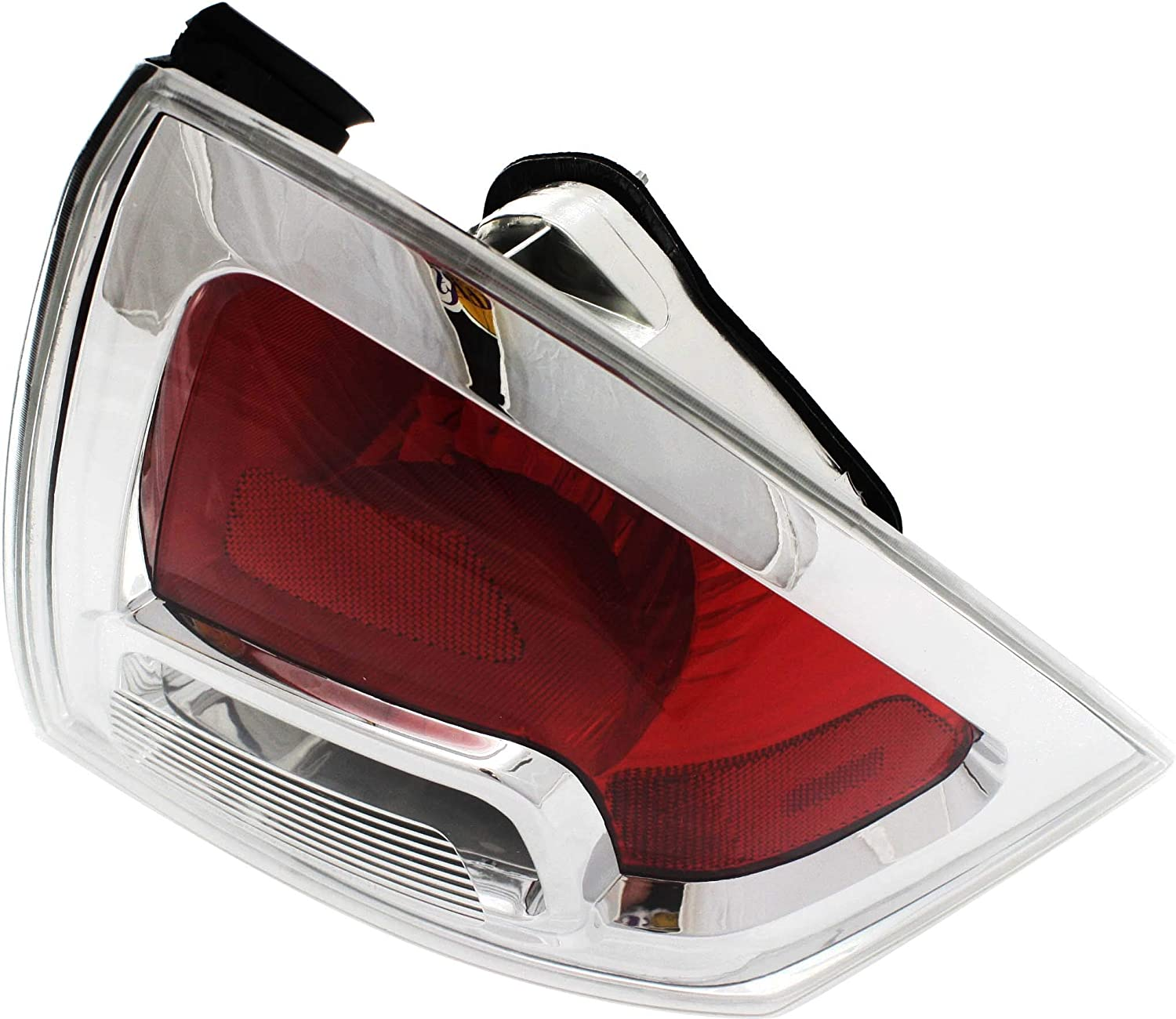Tail Light Lens and Housing Compatible with 2006-2009 Ford Fusion CAPA Passenger Side