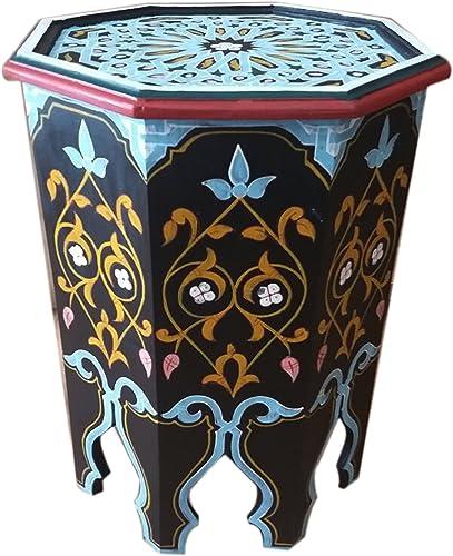 Deal of the week: Moroccan Wood Side End Table Corner Coffee Handmade Moorish Black