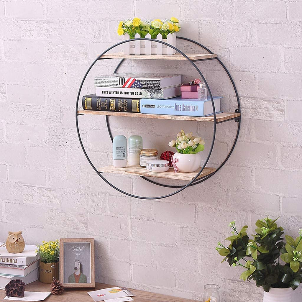 Amazon coupon code for 3-Layer Floating Shelf with Metal Brackets