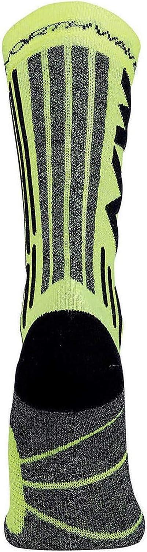 Northwave Husky Ceramic 2 Winter Fahrrad Socken schwarz//gelb 2020