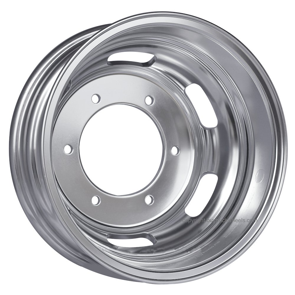 Alcoa 16 x 5.5 Dura Bright Rear Dual Wheel fits Freightliner /& Mercedes Sprinter 250802DB