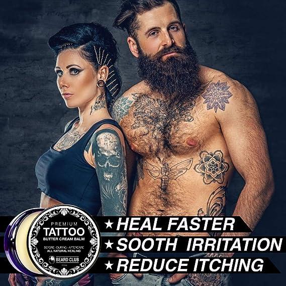 Bálsamo Premium Crema de Manteca Para el Cuidado de Los Tatuajes ...