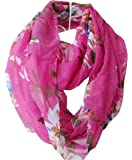 Tapp CollectionsTM Premium Soft Multicolor Sheer Infinity Scarf