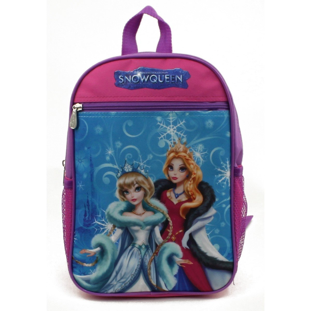 15'' Wholesale Snow Queen Character Print Backpack - Case of 24 by Toon Studio