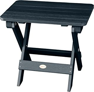 product image for Highwood AD-TBS1-FBE Folding Adirondack Side Table, Federal Blue