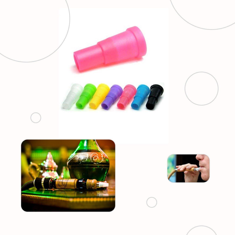 Boquillas para cachimba o shisha, 100 unidades envasadas individualmente, diferentes colores