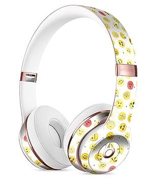 El Todo Emoji patrón piel de cuerpo entero designskinz Kit para el Beats By Dre Solo 3 auriculares inalámbricos/ultrafina/acabado mate/Protective Skin Wrap: ...