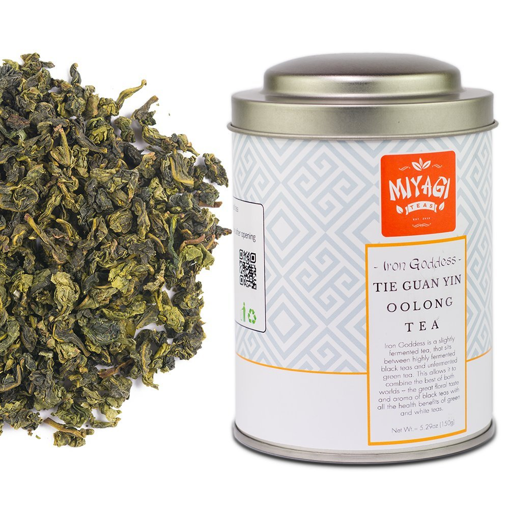 Iron Goddess of Mercy - Tie Guan Yin - Premium Quality Oolong Tea - 5.29oz (150g)/tin can