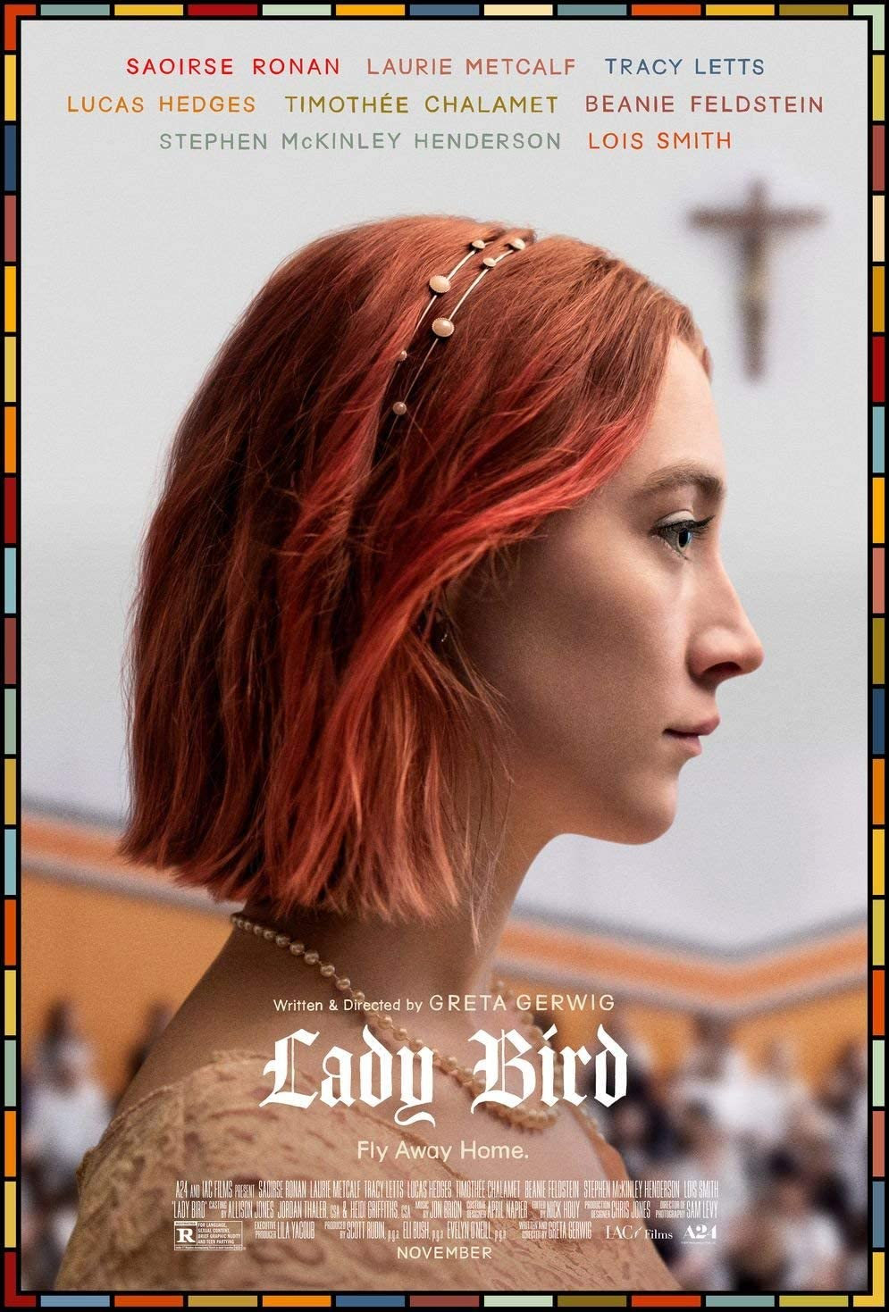 newhorizon Lady Bird Movie Poster 14'' x 21'' NOT A DVD