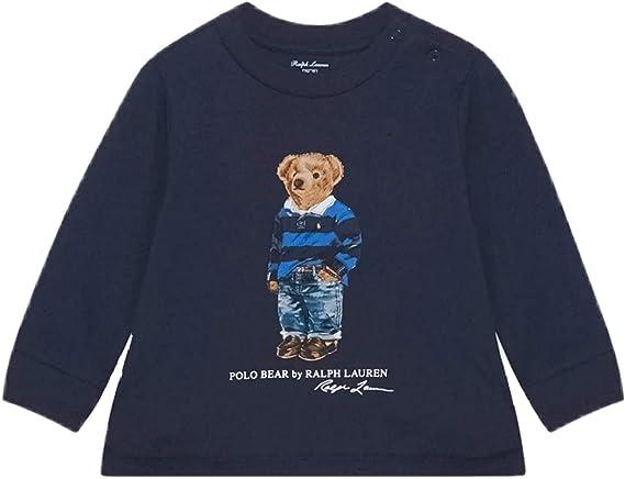 Polo Ralph Lauren - 320805681002 Camiseta Azul Oso - Camiseta ...