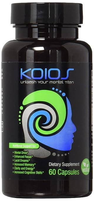 Amazon Com Koios Nootropics Cognitive Enhancer All Natural
