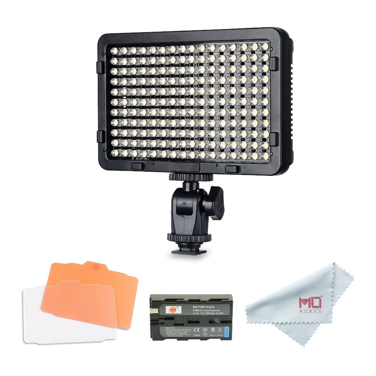 Tolifo Pt-176S LED Video Light Panel, Dimmable Ultra Thin Digital Camera Camcorder Video Light Studio Lighting … … Pt-0176S