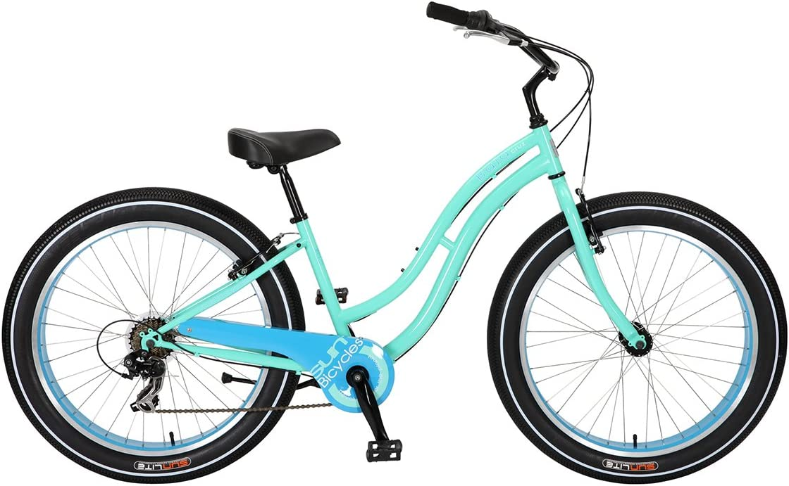Bicicleta Sun Baja Cruz Lady Mint Pearl 7V