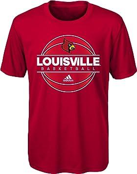 Adidas Youth Louisville Cardinals Rojo Cardenal Pista Ultimate Camiseta de Manga Corta, S, Rojo: Amazon.es: Deportes y aire libre