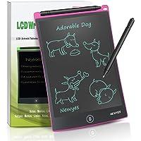NEWYES NYWT850 Tablette d'Ecriture LCD, 8,5 Pouces de Longueur - Différentes Couleurs(Rose)