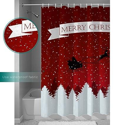 Amazon.com: Family Decor Unique Custom Merry Christmas Dreamlike the ...
