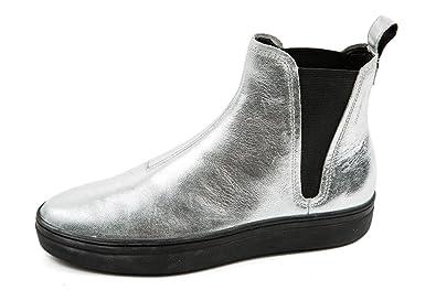 e10405a5f216 Vagabond Damen Chelsea Boots Silber Metallic Gr. 42  Amazon.de ...