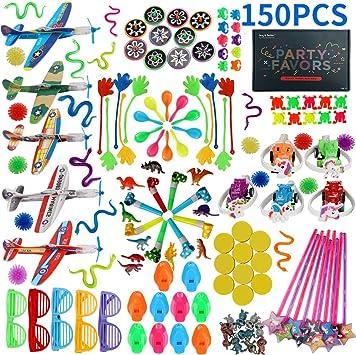 Amazon.com: 150 premios de carnaval para niños, caja de ...