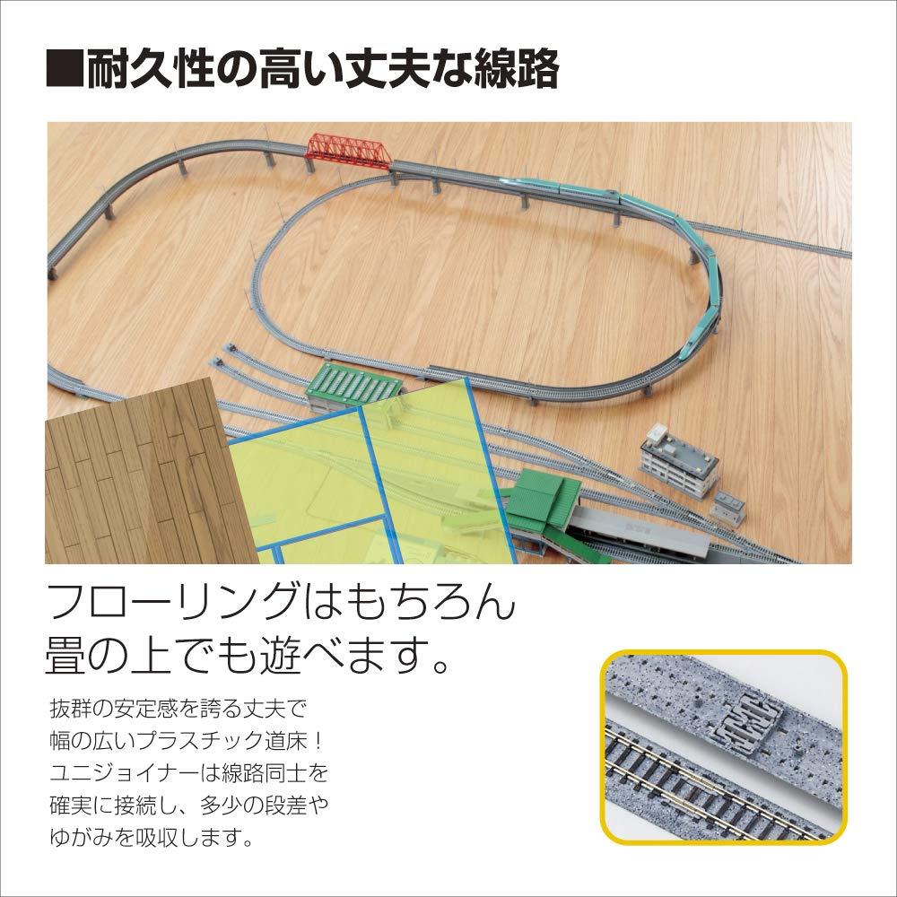 481mm Radius 15-Degree Curve Track Kato USA Model Train Products Unitrack 4-Piece 19