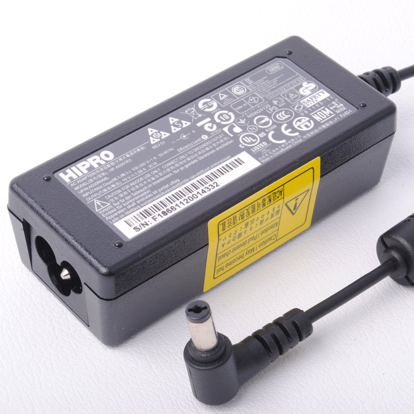 Hipro ordenador portátil de alimentación de CA Adaptador de ...