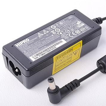 Hipro ordenador portátil de alimentación de CA Adaptador de cargador Netbook Para Packard Bell Dot S