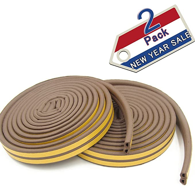 Doors and Windows Draught Excluder Foam Seal Strip Soundproofing ...